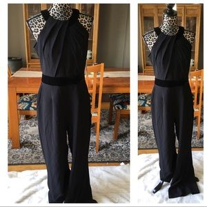 Eliza J Black Halter Jumpsuit size 10